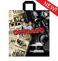 """Пакет с петлевой ручкой 40х43см """" Чикаго """""""