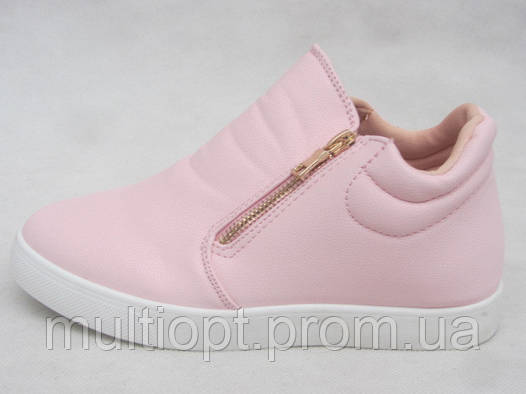 Ботинки молодежные оптом 36-41 белые