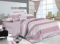 Двуспальный комплект постельного белья 180*220 сатин (8232) TM KRISPOL Украина