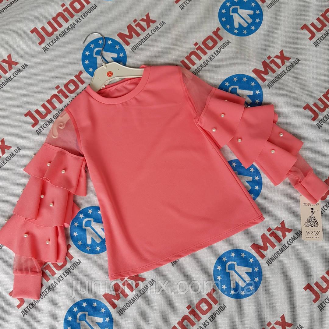 c9678542ee0 Купить Детские цветные нарядные блузки для девочек оптом F Y.ИТАЛИЯ ...