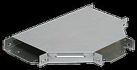 Разветвитель Т-образный 50х50 RAL 9016 (глянец)