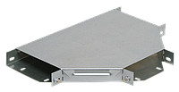 Разветвитель Т-образный 50х200 RAL 9016 (глянец)