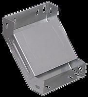 Поворот на 90 гр. вертикальный внутренний 50х200 RAL 9016 (глянец)