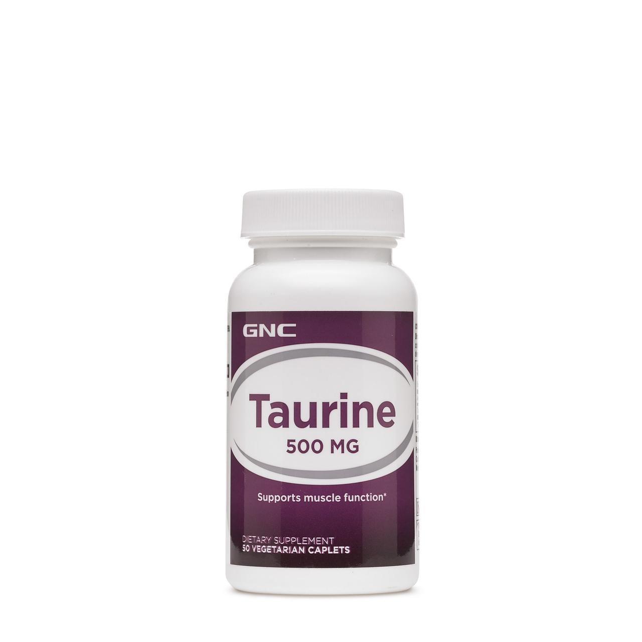 Аминокислоты GNC Taurine 500 50 cap