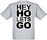 """Футболка Ramones """"Hey! Ho! Let's Go"""" (меланж), фото 2"""