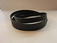 Ременная полоса из кожи хромового дубления с финишным покрытием 20 мм, толщина 2.6 - 2.8 мм (УКРАИНА)