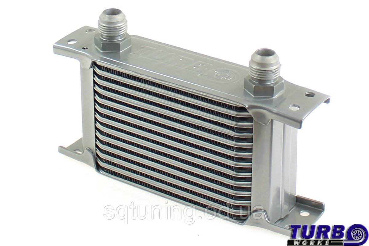 Масляный радиатор TurboWorks Slim Line 13-рядный 140x100x50 AN10