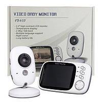 Видеоняня Baby Monitor VB603 экран 3.2 дюйма. Режим ночного видения и двусторонняя связь. Меню на русском язык