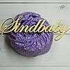 Круглая простынь на резинке в детскую кроватку, 72х72 см -38, фото 2