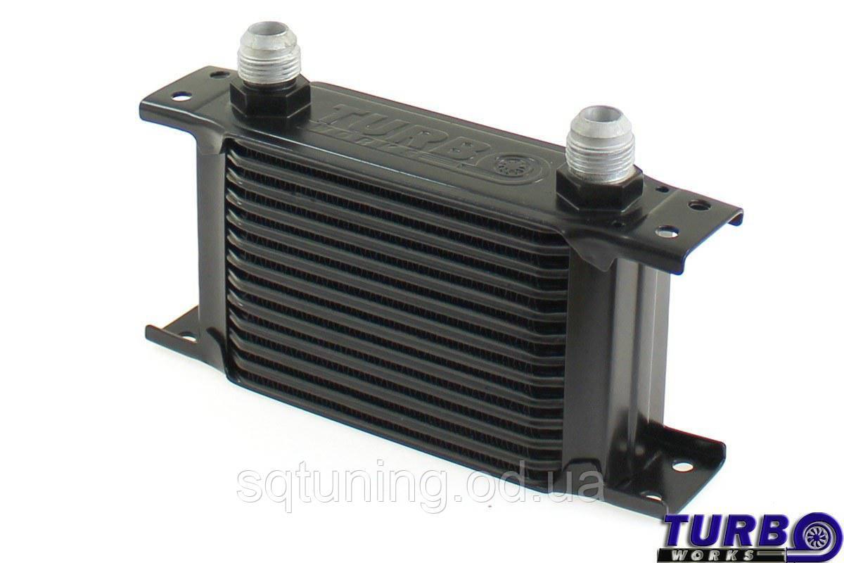 Масляный радиатор TurboWorks Slim Line 13-рядный 140x100x50 AN8