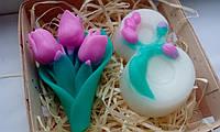 """Подарочный/сувенирный набор мыла для рук """"К 8-му Марта"""", фото 1"""