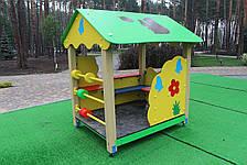"""Деревянный домик-беседка """"Белочка"""", фото 2"""