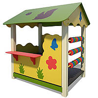 Деревянный домик-беседка Белочка InterAtletika