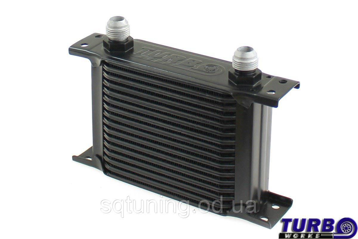 Масляный радиатор TurboWorks Slim Line 16-рядный 140x125x50 AN8