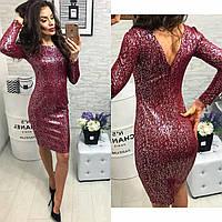 Платье вечернее, модель 801, цвет - марсала серебро, 42, 44 размеры, фото 1