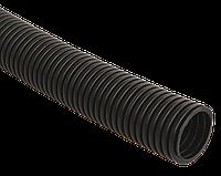 Труба гофр.ПНД d 40 с зондом (15 м) ИЭК черный