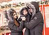 """Теплый женский дутый костюм """"Under Armour"""" с комбинезоном, фото 6"""