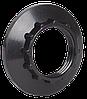 Кольцо к патрону, пластик, Е14, черный, индивидуальный пакет, (EKP20-02-02-K02) IEK