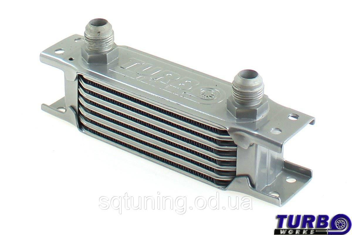 Масляный радиатор TurboWorks Slim Line 7-рядный 140x50x50 AN10