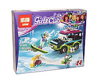 "Конструктор аналог лего Lepin ""Girls Club"" (Внедорожник), 152 детали (01049)"