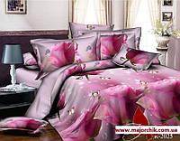 Комплект постельного белья 2-спальный Нежные розы