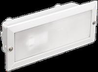Светильник НВП3102 белый/прямоугольник без решетки 60Вт IP54 IEK