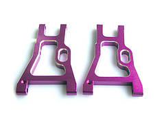 (02160) Purple Alum Rear Lower Arm 2P