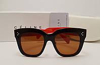 Женские солнцезащитные очки lux Celine CL41444 (Red)