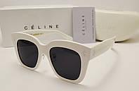 Женские солнцезащитные очки lux Celine CL41444 (White)