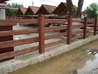 Деревянный забор, ранчо