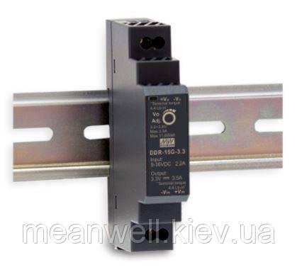 DDR-15G-3.3 Блок питания Mean Well DC DC преобразователь вход 9 ~ 36VDC, выход 3.3в, 3,5A