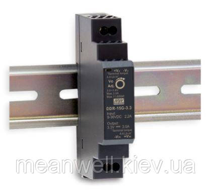 DDR-15L-3.3 Блок питания Mean Well DC DC преобразователь вход 18~ 75VDC, выход 3.3в, 4,5A