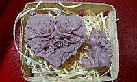 """Подарочный/сувенирный набор мыла для рук """"В День св. Валентина"""", фото 1"""