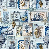 Ткань Морские трофеи