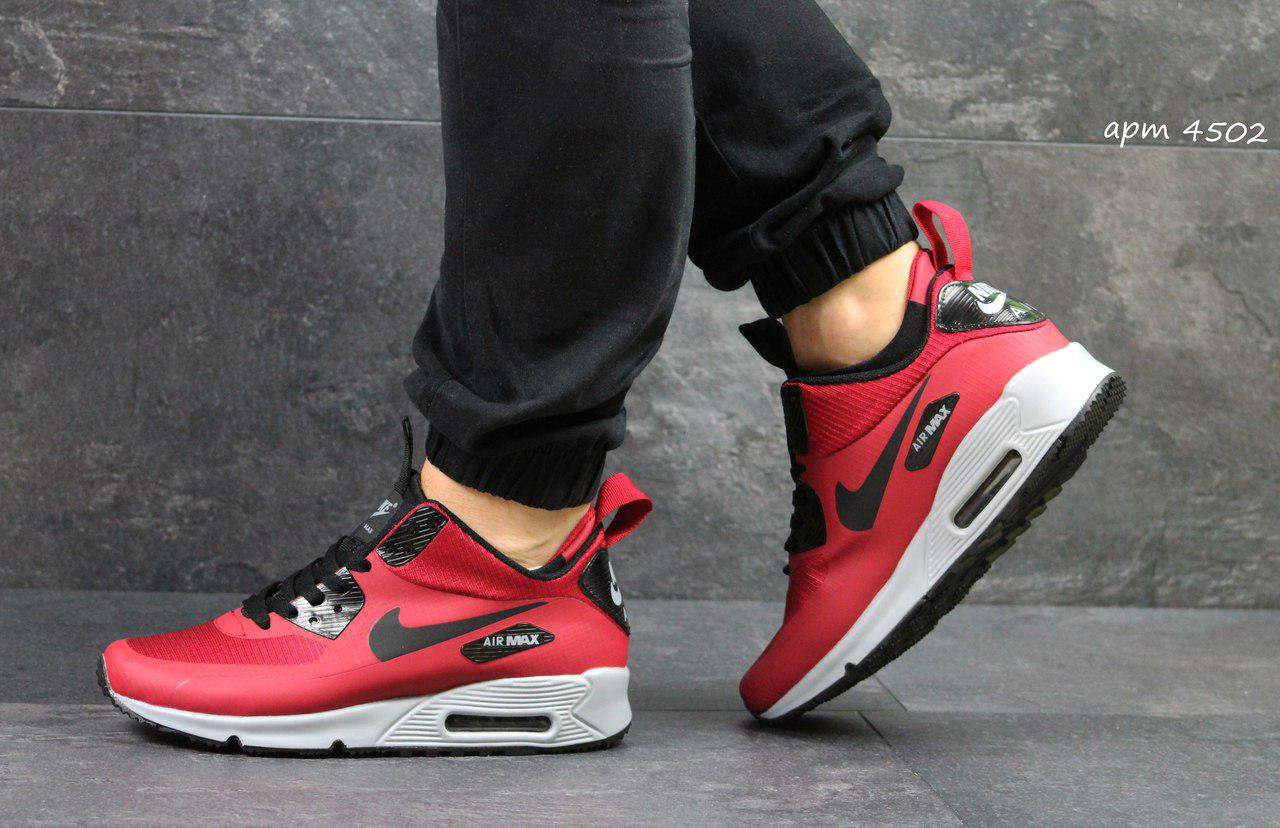 2c14c2e7 Мужские кроссовки Nike Air Max 90 Ultra Mid Winter Red - Интернет-магазин  Дом Обуви