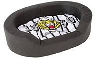 Синтетическая кровать для собак и кошек NIDO 50 TIGER Ferplast