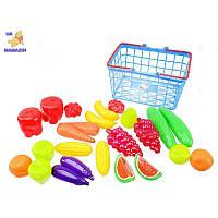 Корзина М УРОЖАЙ ORION 379-3, детский игровой набор с продуктами