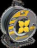 "Катушка УК40 на мет с т/з 4 места 2Р+PЕ/40м Кабель КГ 3х1,5мм2 IP44 ""Professional"" (WKP16-16-04-40-44) IEK"