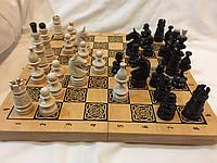 Шахматы деревянные подарочные 44 см Украина