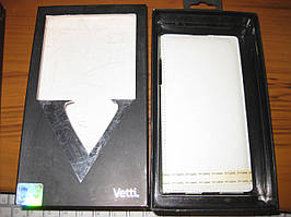 Чохол Vetti Craft Flip Lenovo K900 Normal Series white