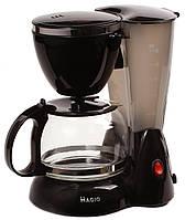 Кофеварка MAGIO МG-344 550Вт 4 чашки стеклянная колба