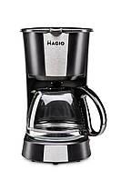 Кофеварка MAGIO МG-349, 550Вт, стеклянная колба