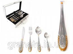 Набор столовых приборов на 6 персон (24 предмета) в чемоданчике