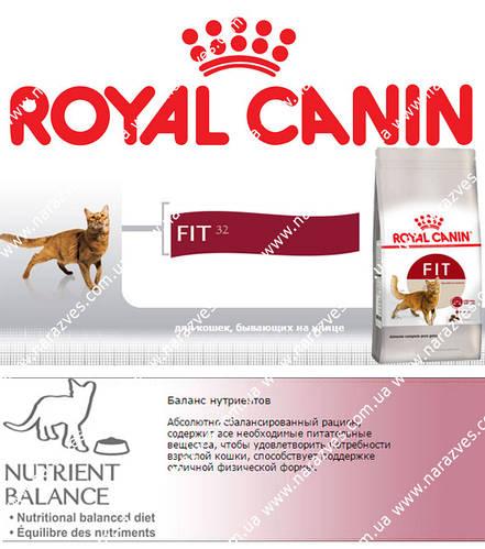 Сухой корм Royal Canin Fit (с курицей) на развес