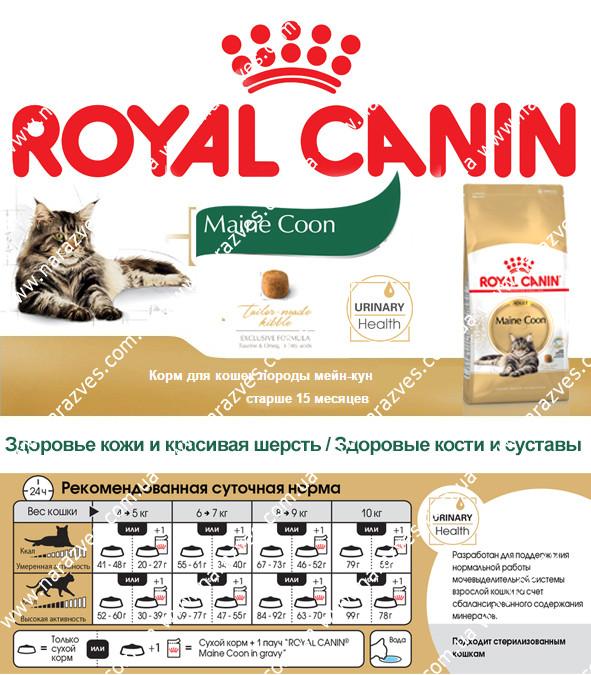 Сухой корм Royal Canin Maine Coon Adult на развес