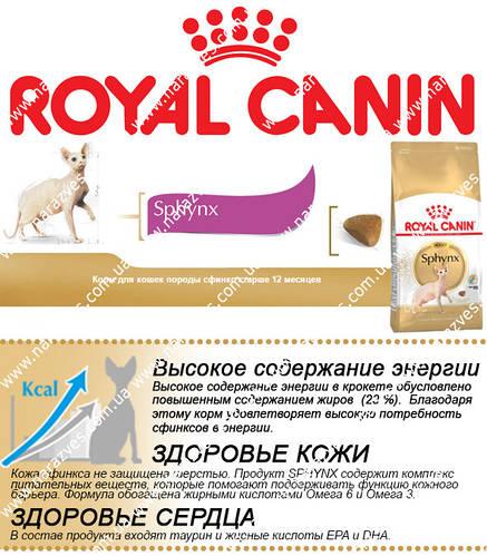 Сухой корм Royal Canin Sphynx Adult на развес