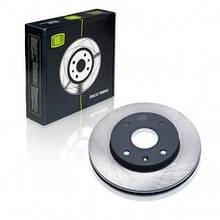 Диск тормозной для Chevrolet Lacetti Nubira 1.4-2.0 передний TRIALLI DF 062202