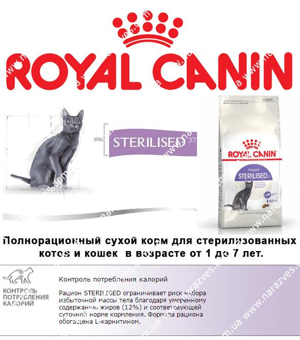 Сухой корм Royal Canin Sterilised на развес