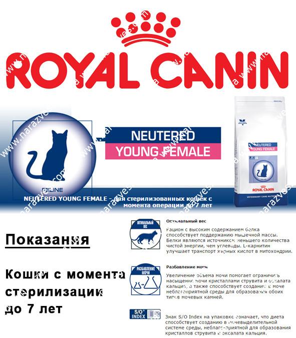 Сухой корм Royal Canin Young Female на развес