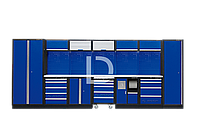 Рабочий модуль для хранения инструмента 0 синий Габариты 4885 x 460 x 2000